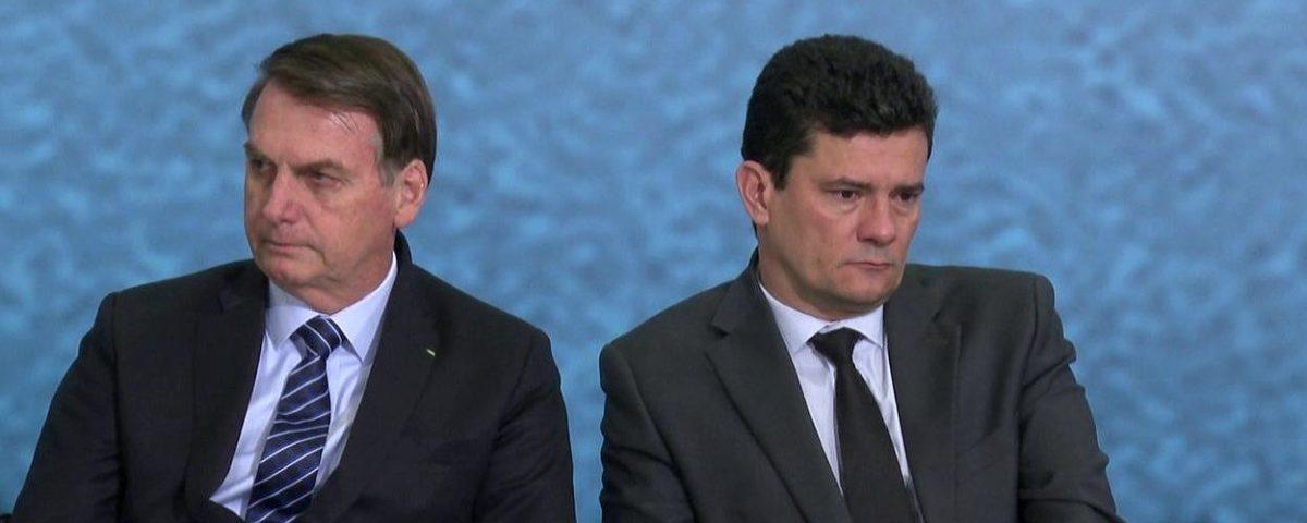Bolsonaro detona Moro e o chama de mentiroso