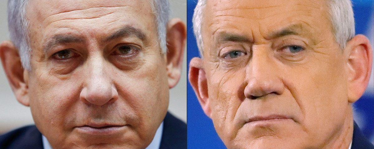 Em Israel, Netanyahu e seu rival Benny Gantz formarão um governo de 'unidade'