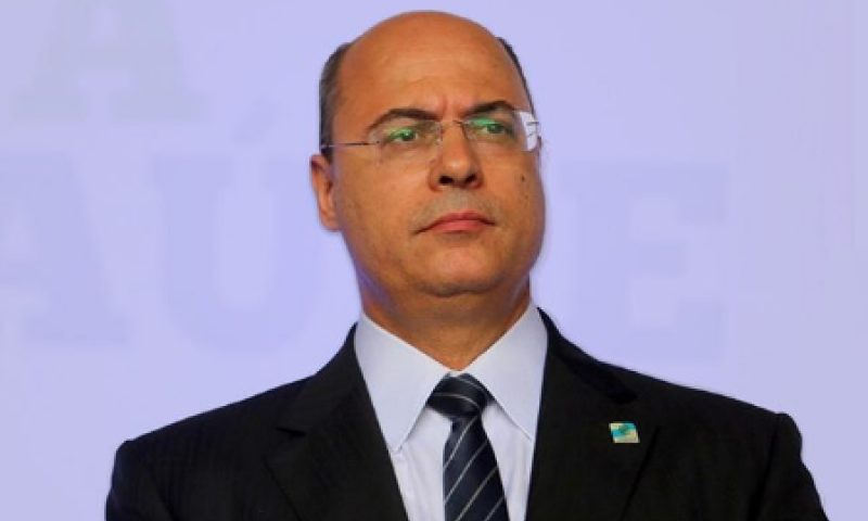 Governador do Rio de Janeiro, Wilson Witzel tem um coronavírus; assista ao vídeo do anúncio