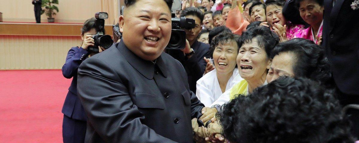 Kim Jong-un manda mensagem para o presidente sul-africano, diz agência oficial da Coréia do Norte