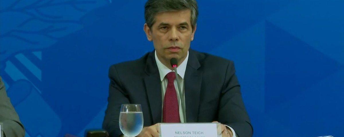 Ministro diz que está preparando um 'programa de saída' para cidades e estados que adotam isolamento contra Covid-19