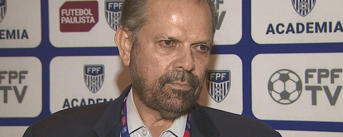 """O presidente da FPF garante que Paulistão conclua: """"O futebol é decidido em campo"""""""