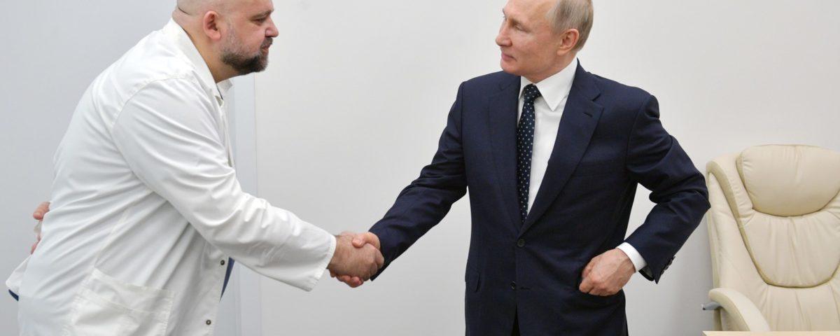 Putin vai trabalhar em casa após o contato com o médico diagnóstico com Covid-19