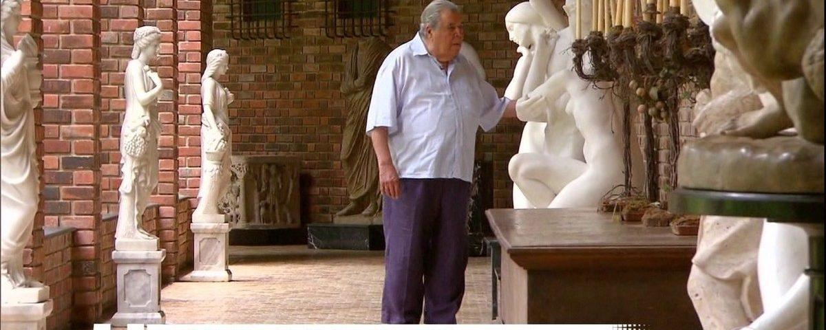 Ricardo Brennand morre de Covid-19 aos 92 anos, em Recife
