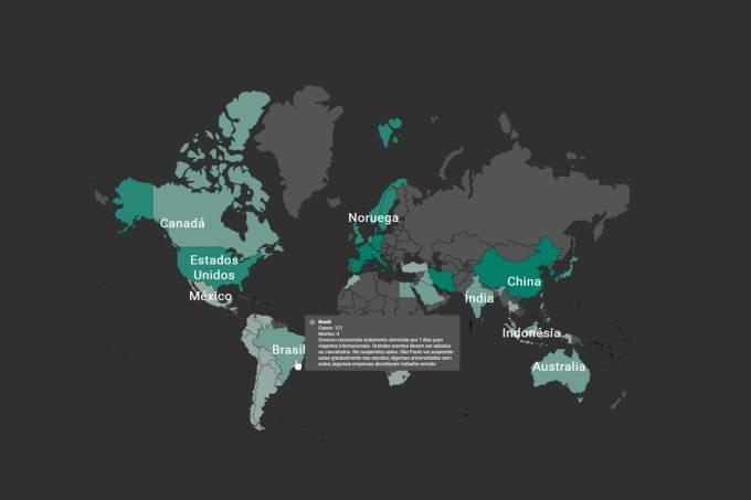 Mais de 2 milhões de casos em todo o mundo: como os países reagem ao coronavírus