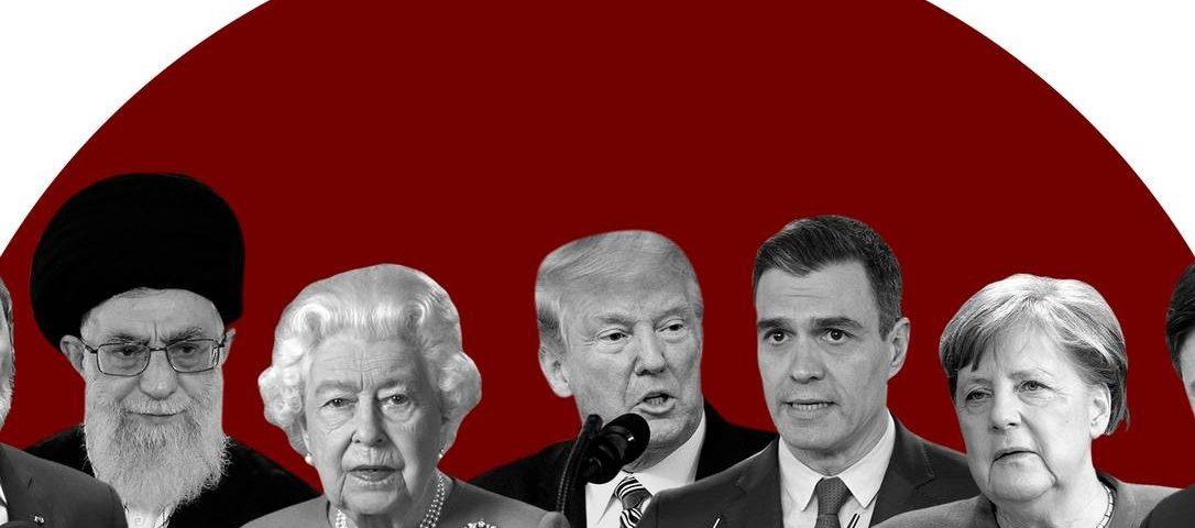 Veja como os líderes dos Estados Unidos, Itália, Espanha e Reino Unido reagiram quando seus países atingiram 5.000 mortes