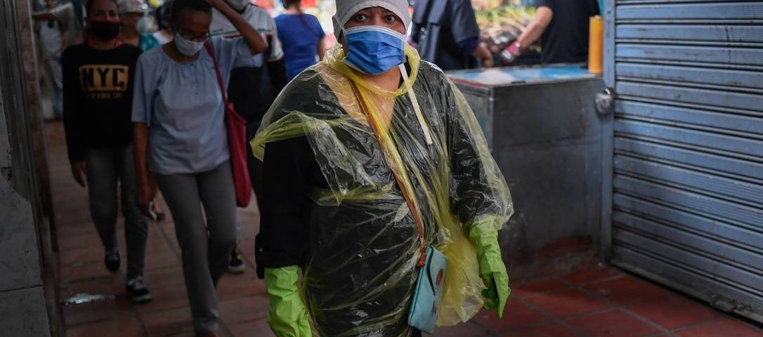 Venezuela combate o coronavírus com economia em queda livre