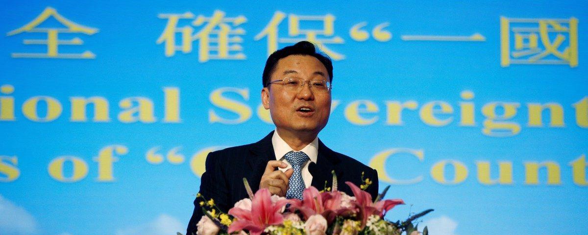Funcionário chinês diz que alguns protestos em Hong Kong foram 'terroristas por natureza'