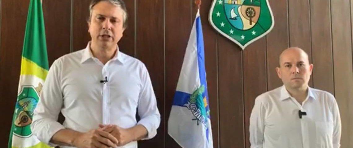 Camilo estende decreto de isolamento social no Ceará; com uso obrigatório de máscaras e regras mais rígidas
