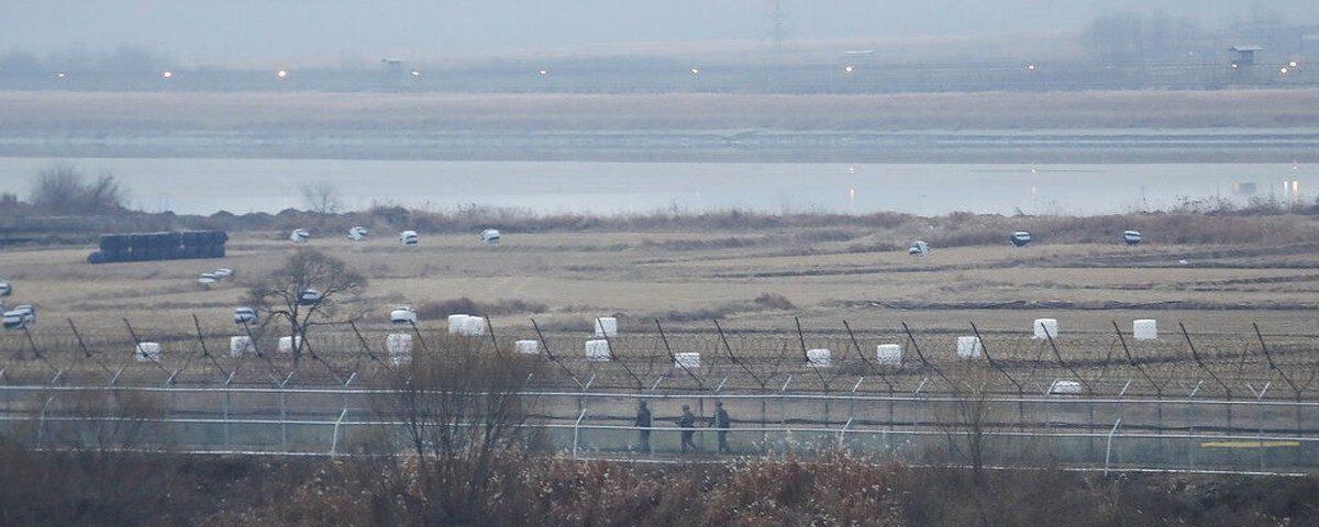Coréia do Sul diz que tropas trocaram tiros com a Coréia do Norte na fronteira
