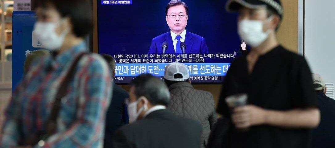 Coréia do Sul vê forte aumento nos casos de coronavírus