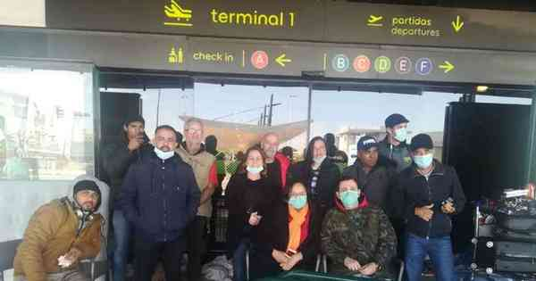 Coronavírus: mineradora deixa Portugal em voo de repatriamento
