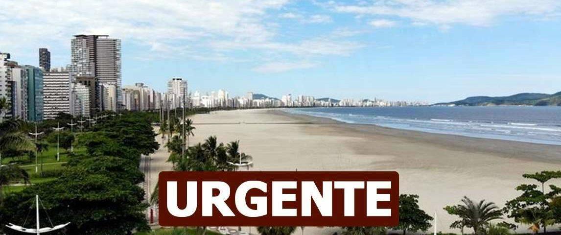 Covid-19: Santos registra 334 casos confirmados em 24 horas e atinge novo recorde