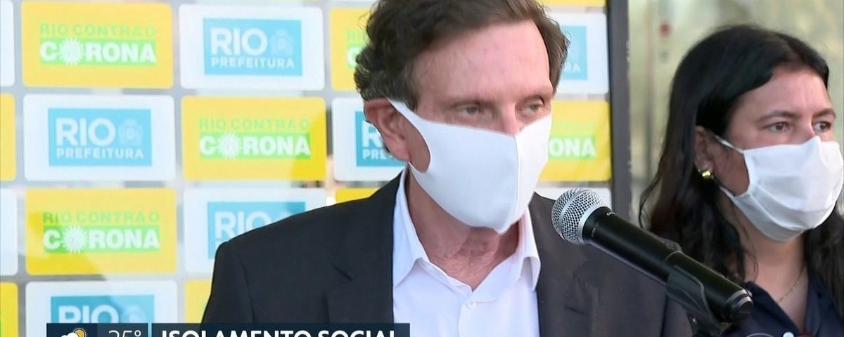 Medidas de isolamento social se estendem no Rio