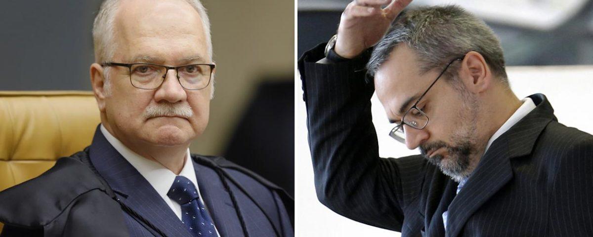 Fachin é selecionado como relator do pedido de habeas corpus para Abraham Weintraub