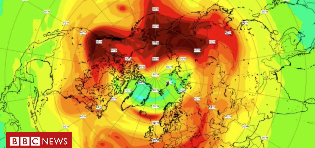 Como o maior buraco na camada de ozônio no Polo Norte finalmente foi fechado