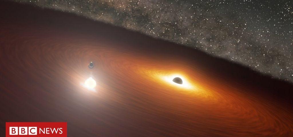 A 'dança do buraco negro' que prova as teorias de Einstein e Stephen Hawking