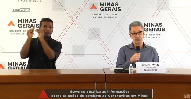 O governador Romeu Zema atualiza a situação do Covid-19 nesta terça-feira; Veja