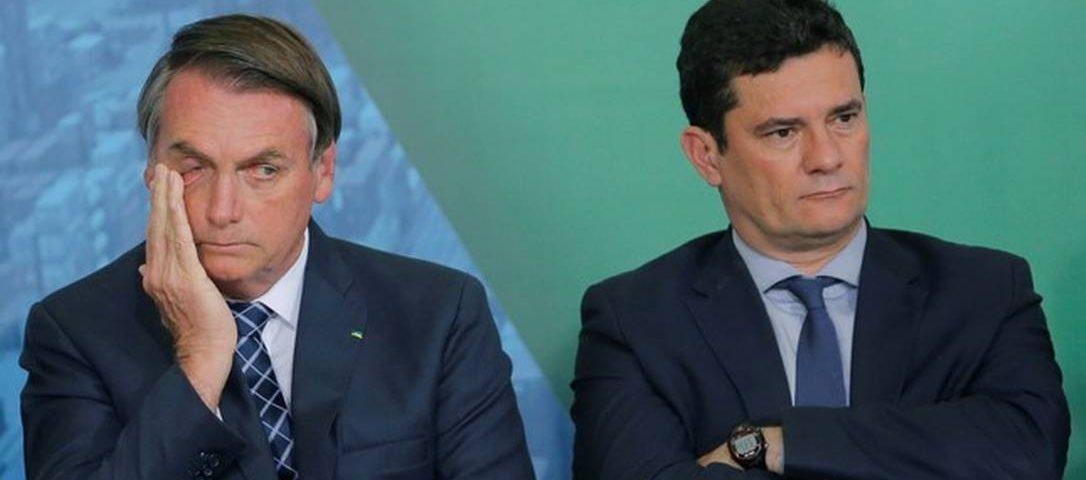 """Horas antes do depoimento, Bolsonaro chama Moro de """"Judas"""""""