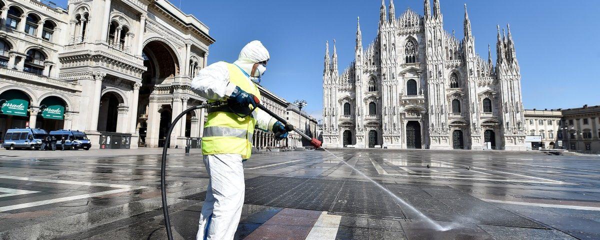 Itália tem o menor número de mortes por Covid-19 desde o início de março