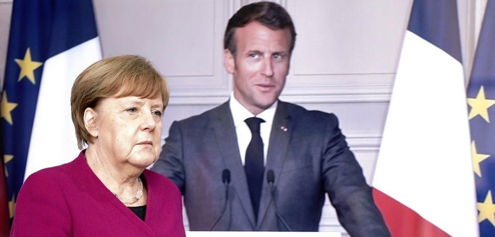 Merkel e Macron anunciam plano de ajuda de 3,12 bilhões de reais para a reconstrução da Europa