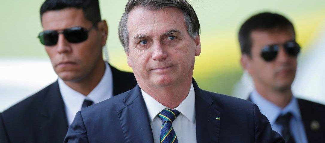 """""""Ninguém vai querer me bater"""", diz Bolsonaro sobre o STF"""