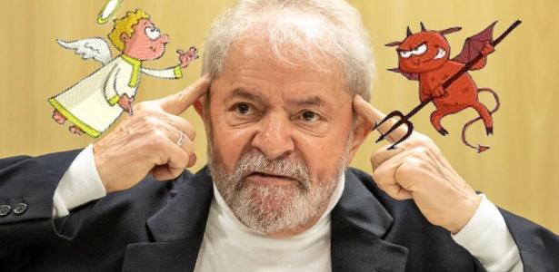 O diabo e o anjo disputam Lula; vitórias com chifres; Bolsonaro obrigado