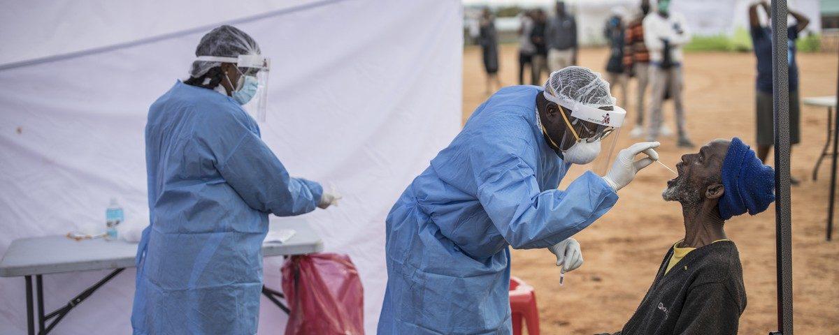 Pandemia na África: 80% dos países registraram mortes e o diretor da OMS teme a sobrecarga do sistema de saúde