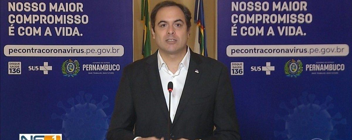 O PE proíbe a circulação de pessoas e adota medidas restritivas em Recife e em outras quatro cidades