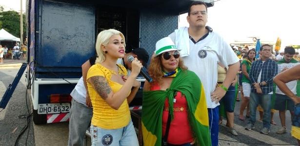 Sara Winter chama Moraes de covarde após ser alvo da operação de PF