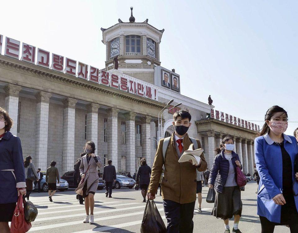 Sem casos confirmados, a situação do Covid-19 na Coréia do Norte é incerta
