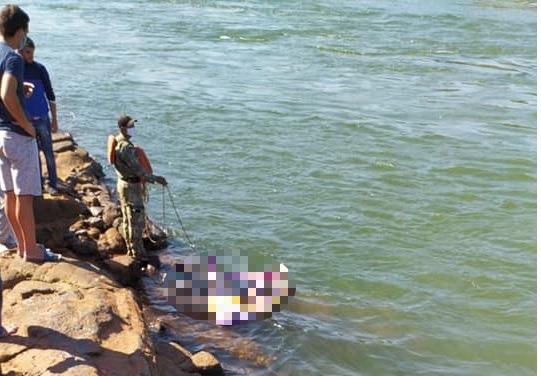 Segundo corpo de paraguaios desapareceu no rio Paraná encontrado