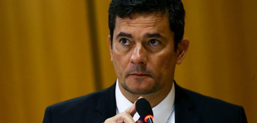 Sergio Moro fala após a demissão de Nelson Teich