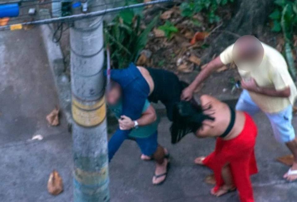 As imagens mostram ataques relatados pelo médico após a 'festa da coroa' em Grajaú