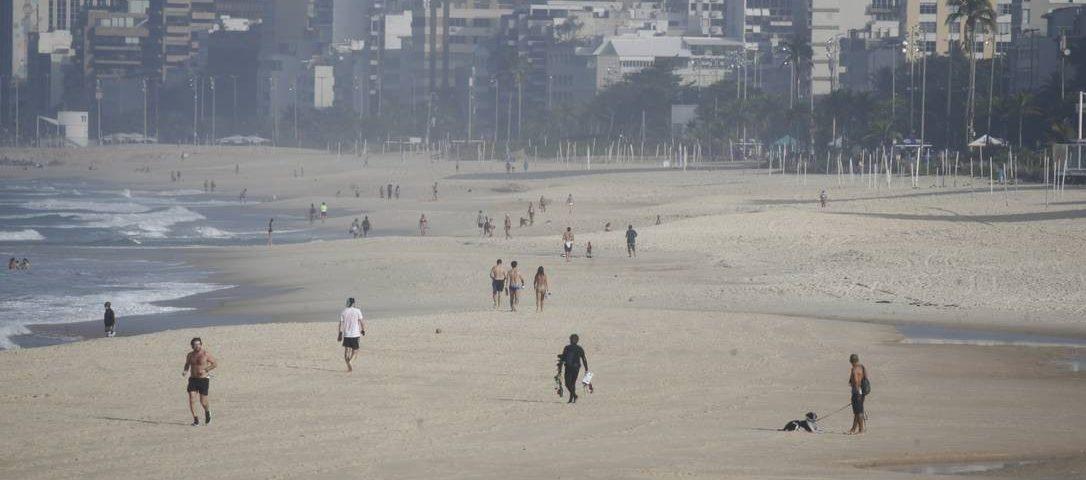 A Prefeitura do Rio apela à decisão da Justiça que suspendeu o relaxamento das medidas de isolamento social
