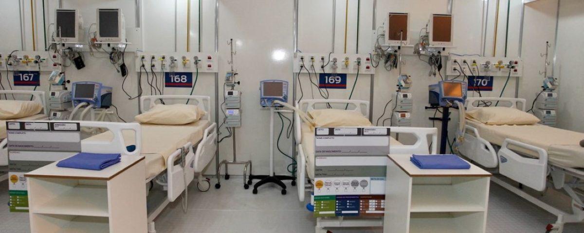 O governo do Rio assume a gestão de sete hospitais de campanha