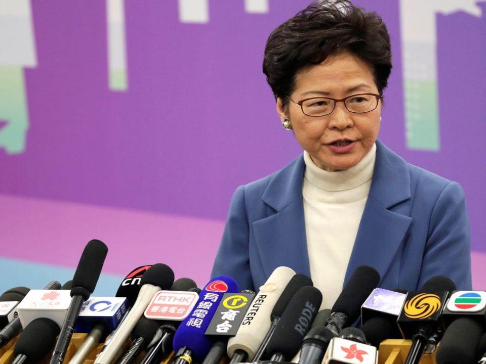 """Lei de segurança"" de Hong Kong estabelece limites, diz líder"
