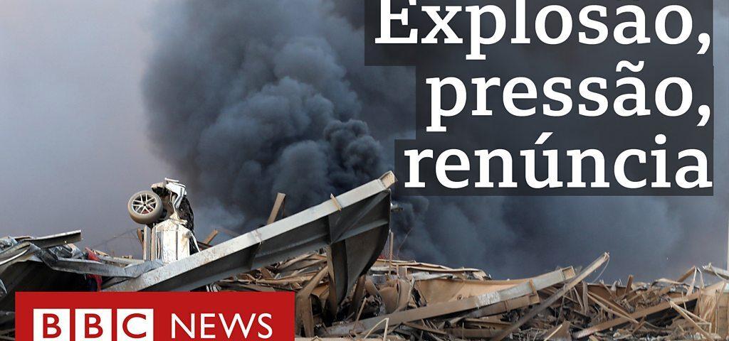 Como a explosão em Beirute derrubou o governo libanês